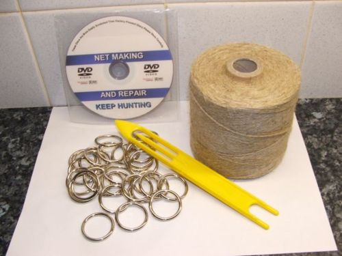 Hemp Net Making KIt